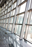 Wall of glass and the pattern Stock Photography