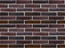 Wall of glazed bricks (seamless background) Royalty Free Stock Photo