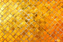 Wall gold Stock Photo