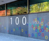 Wall of the Google office building in Zurich, Switzerland Royalty Free Stock Photography