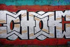 Wall graffiti royalty free stock photography