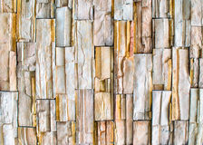 Wall of granite pieces Royalty Free Stock Photography