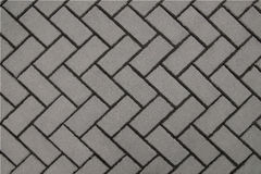 Wall gray background of tiles Stock Photography