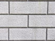 Wall of gray blocks Stock Photography