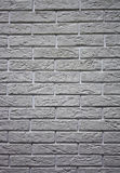 Wall from a gray brick Royalty Free Stock Photography