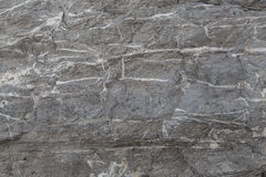 Wall of gray slate. A wall of gray slate Royalty Free Stock Photography