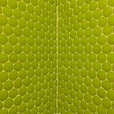 Wall with green mosaics Stock Photo
