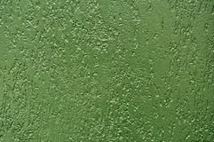 Wall Green Stucco Texture Royalty Free Stock Photo