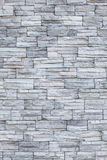 Wall of grey bricks Royalty Free Stock Image