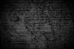 Wall grunge black concrete with light background. Dirty,dust wall concrete blackboard texture and splash white color space for tex. T or abstract background stock photography