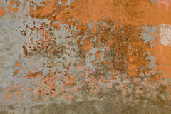 Wall grungy yellow white texture Royalty Free Stock Photography