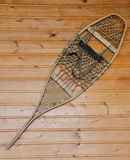 Wall hanging vintage snowshoe Royalty Free Stock Photography