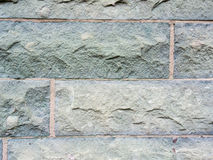 Wall of hewn stone Royalty Free Stock Images