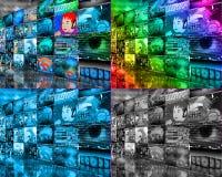 Wall high-tech Stock Photos