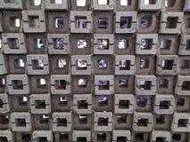 Wall hole stock photography