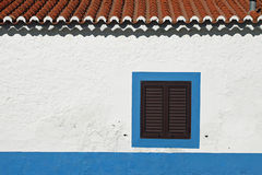 Wall house Stock Photography