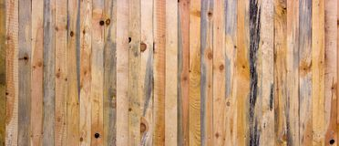 Wall of a house with a log house, vintage wood texture in high resolution.  Stock Images