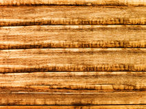 Wall of the house from logs Stock Photo