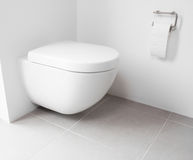 Wall hung toilet Stock Photography