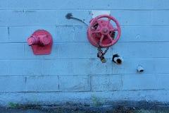Wall Hydrant Stock Photo