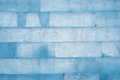 Wall of ice Royalty Free Stock Photos