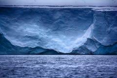 Wall of Ice sheet glacier. Zone of ablation. Franz-Joseph Land, Rudolf island Royalty Free Stock Image