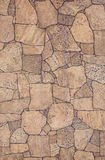 Wall imitation stones, unusual stonework, background, Stock Image