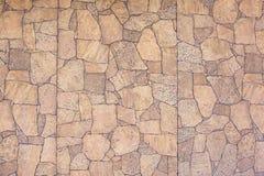 Wall imitation stones, unusual stonework, background, Royalty Free Stock Images