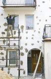 Wall improvement Stock Photography