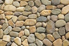 Wall of irregular shaped stones Royalty Free Stock Photos