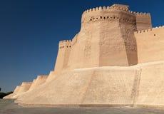 Wall of Itchan Kala - Khiva - Xorazm Province - Uzbekistan Royalty Free Stock Images