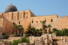 Wall of Jerusalem Stock Photos