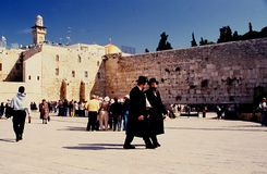The wall jerusalem israel Royalty Free Stock Photo