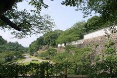 Wall of Kanazawa castle Stock Image