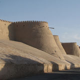 Wall at khiva Royalty Free Stock Images