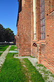 Wall of Koenigsberg Cathedral. Kaliningrad, Russia Stock Images