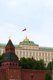 Wall of Kremlin Stock Photo