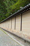 Wall in Kyoto Royalty Free Stock Photography