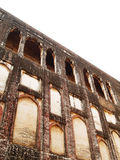 Wall at Lahore Fort royalty free stock images
