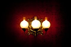 Wall lamp Stock Images