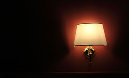 Wall lamp Royalty Free Stock Photography