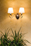 Wall lamp Stock Photos