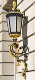 Wall Lamp. Captured on wall of building royalty free stock photo