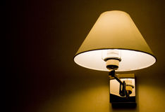 Wall lamp. Royalty Free Stock Image