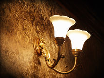 Wall lamp Stock Photography