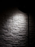 Wall and lamp Royalty Free Stock Photo