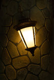 Wall lamp Royalty Free Stock Images