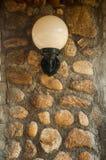 Wall lamp Royalty Free Stock Image