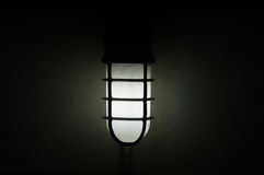 The wall lamp Stock Image