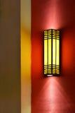 Wall lamp Royalty Free Stock Photography